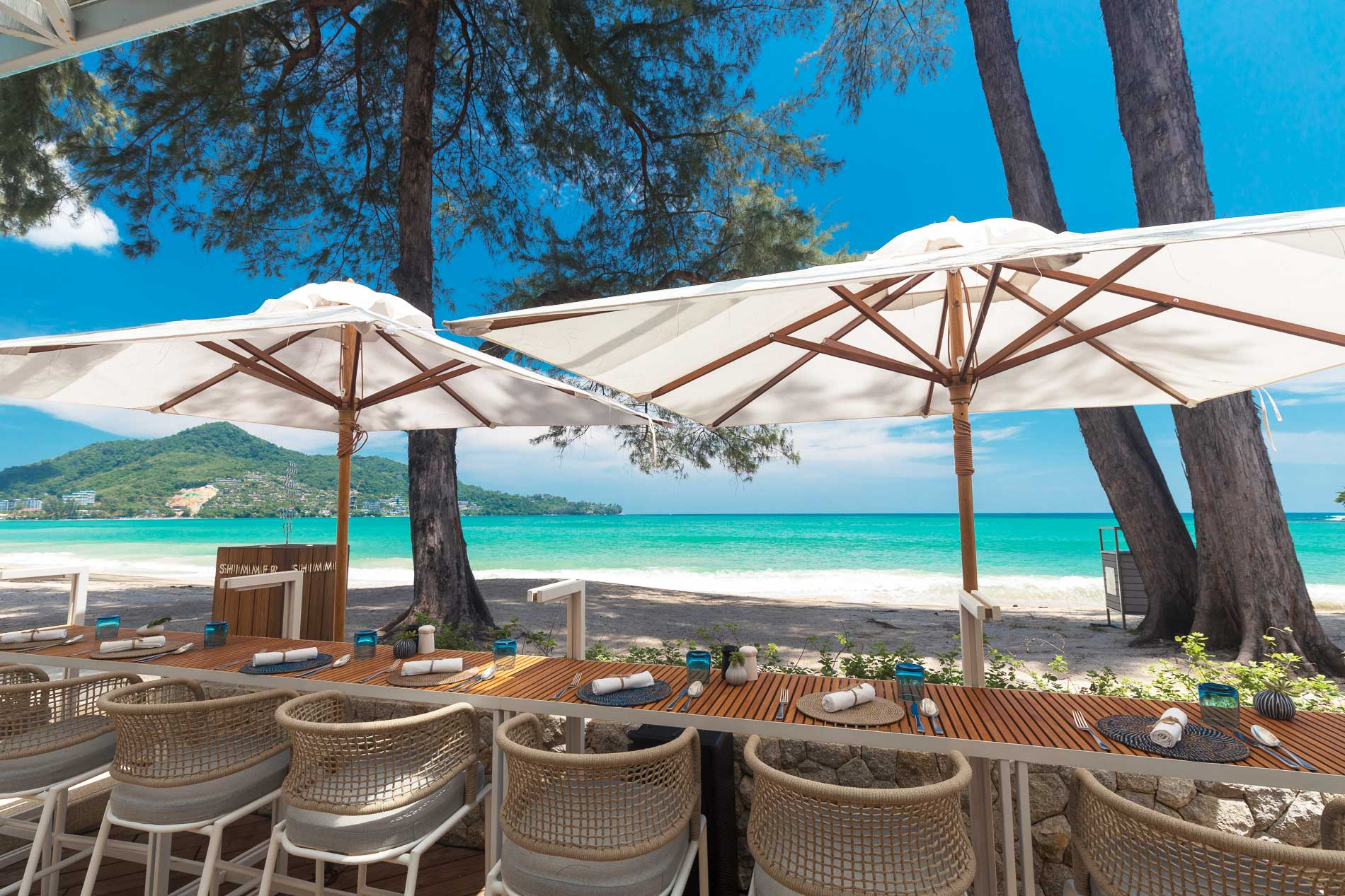 Shimmer Beachfront Restaurant & Bar Kamala Beach Phuket | Thailand Directory