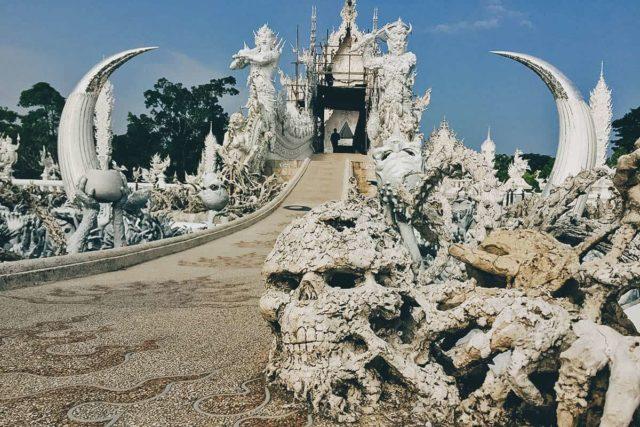Wat Rong Khun – der weiße Tempel