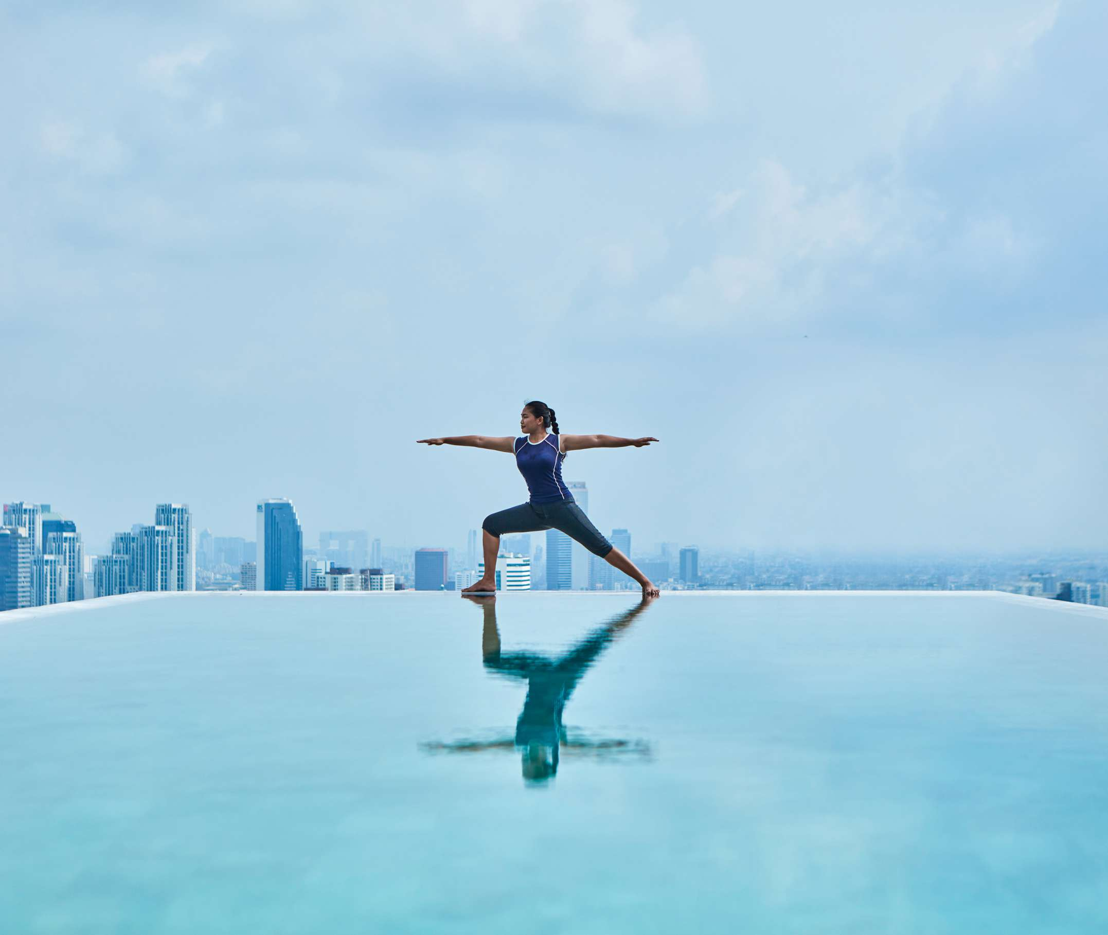 137Pillars Suites & Residences Suites Rooftop Yoga | Thailand Directory